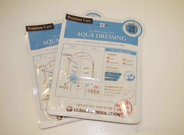 memebox global #7 - leaders insolution aqua dressing sheet mask