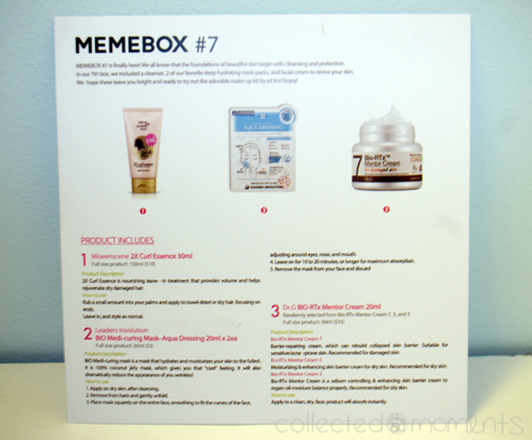 memebox global #7