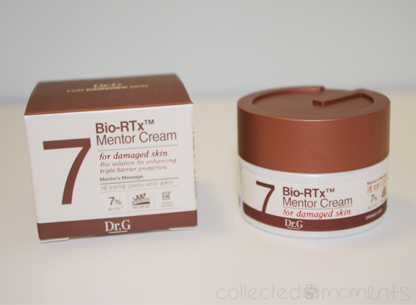 memebox global #7 - dr. g bio-rtx mento cream