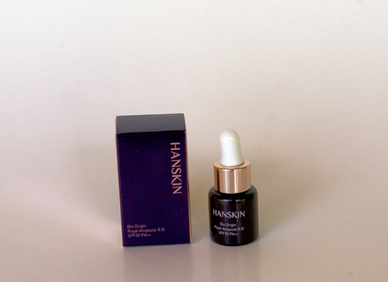 memebox global #10 - hanskin bio origin royal ampoule bb
