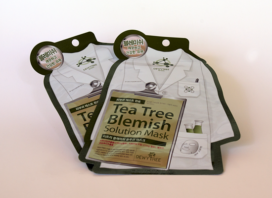 memebox from nature - dewytree tea tree blemish mask