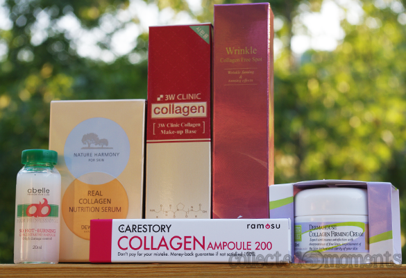 memebox: superbox #33 collagen cosmetics