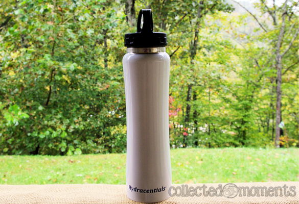 Hydracentials 16 oz. Slim and Sporty Stainless Steel Water Bottle