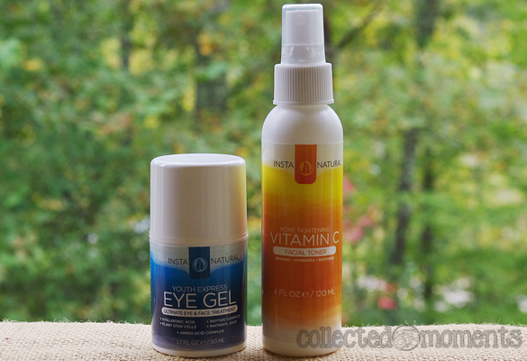 Instanatural Vitamin C Toner and Youth Express Eye Gel