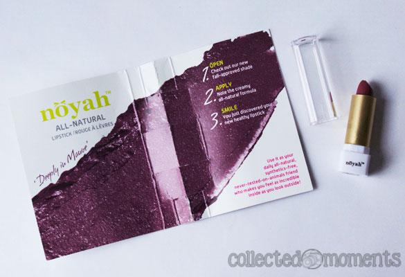 noyah All-Natural Lipstick
