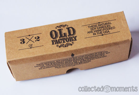 Old Factory Candle Gift Set