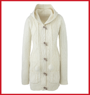 Simply Be Hooded Cardigan