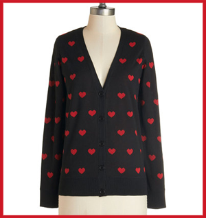 ModCloth Nothing But Love Cardigan