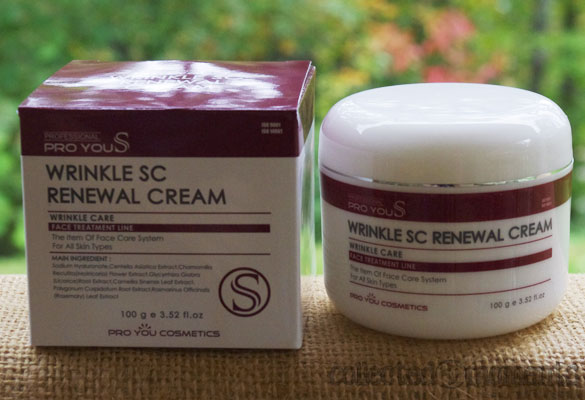 Pro You S Wrinkle SC Renewal Cream