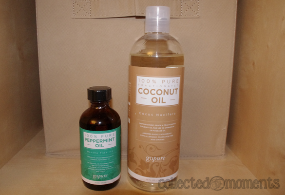 goPure Fractionated Coconut Oil & Peppermint Essential Oil