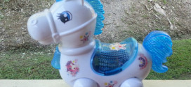 Techege Toys Bump-n-Go Fun Horse
