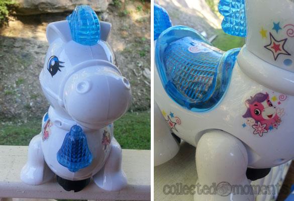 Techege Toys Bump-n-Go Fun Horse