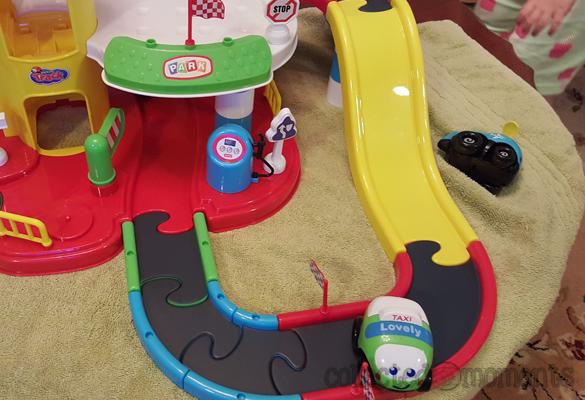 Memtes Kids City Parking Lot Toy Playset