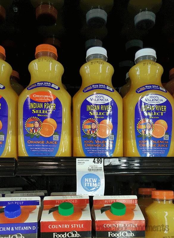 Indian River Select Juice | Food City
